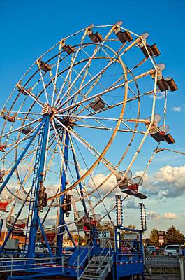 Ferris Wheel Print by Steve Harrington