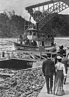 Photograph - Ferry - Historic by Russ Brown