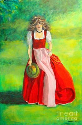 Dagmar Painting - Springtime by Dagmar Helbig