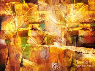 Zen Digital Art - Festivo by Lutz Baar