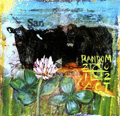 Field Of Clover Print by Andrea LaHue aka Random Act