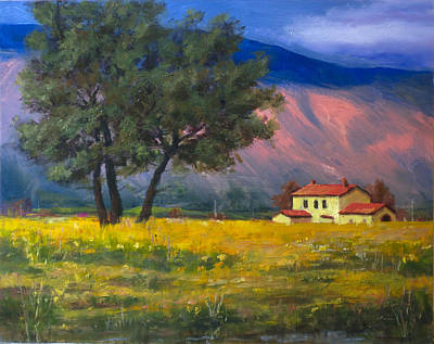 Schmid Painting - Fields Of Gold by Carlos Herrera