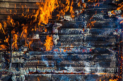 Fiery Transformation Print by Andrew Slater