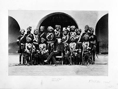 Punjab Photograph - Fifth Punjab Cavalry by British Library
