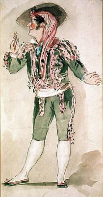 Seville Painting - Figaro/barber Of Seville by Granger