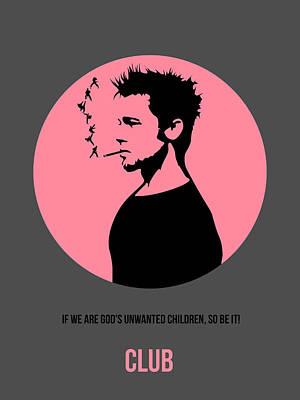 Fight Club Poster 1 Print by Naxart Studio