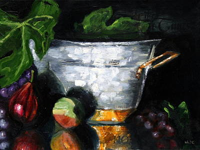 Figs And Things Print by Gaye White