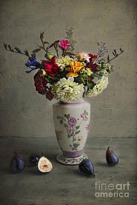 Zinnias Photograph - Figs by Elena Nosyreva