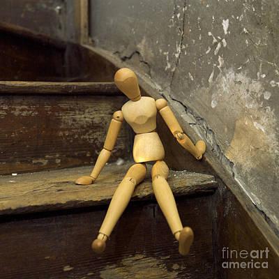 Figurine Print by Bernard Jaubert