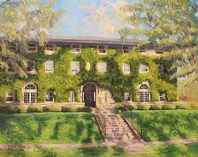 Fiji Fraternity House Purdue Print by Steve Haigh