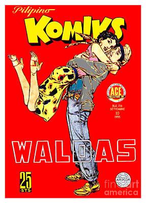 Comic Books Drawing - Filipino Comics by Jonas Luis