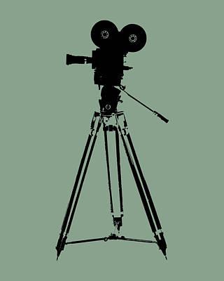 Film Camera Pop Art Print by Flo Karp