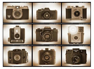 Holga Camera Photograph - Film Camera Proofs 3 by Mike McGlothlen
