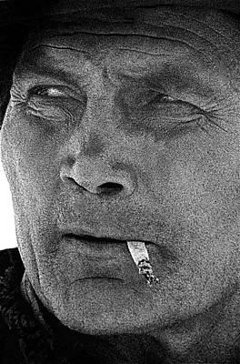 Jack Palance Photograph - Film Noir Jack Palance Joan Crawford Sudden Fear 1952 Old Tucson Arizona 1969 by David Lee Guss