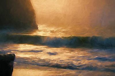Filtered Light Print by John K Woodruff