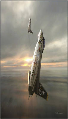 F-14 Digital Art - Final Countdown by Dorian Dogaru
