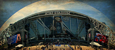 Finals Madness 2014 At Att Stadium Print by Stephen Stookey
