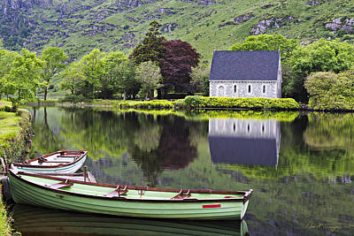 Gougane Barra Photograph - Finbarr's Retreat by Dan McGeorge