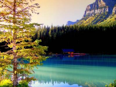Canadian Landscape Photograph - Finding Inner Peace by Karen Wiles
