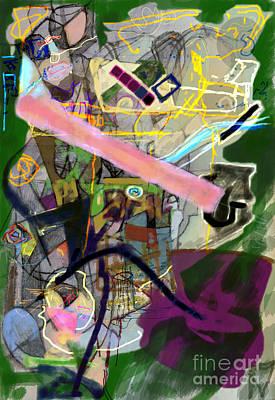 Tzaddik Digital Art - Penimiut 2h by David Baruch Wolk