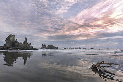 Finding Reflections Print by Jon Glaser
