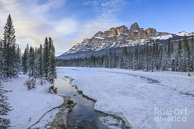 Canadian Rockies Photograph - Finest Hour by Evelina Kremsdorf