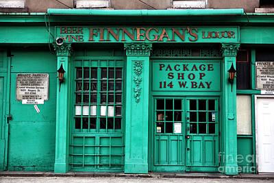Finnegans Of Savannah Print by John Rizzuto