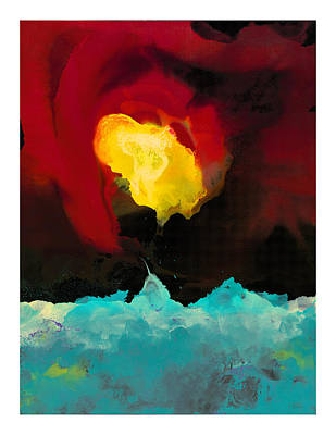 Fire And Ice Print by Craig Tinder