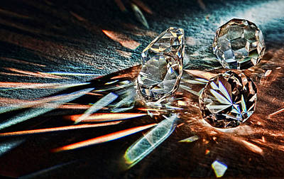 Gemstones Photograph - Fire And Ice by Marcia Colelli