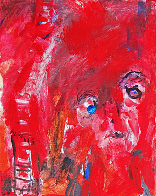 Social Issues Painting - Fire Burn by Judith Redman