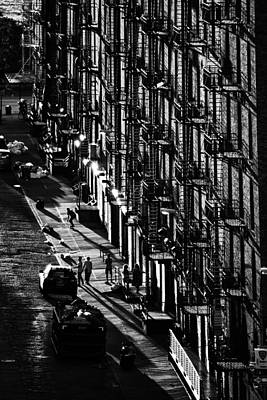 Fire Escapes Print by Christian Heeb