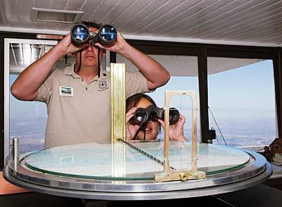 Watch Tower Photograph - Fire Lookout Volunteers by Jim West