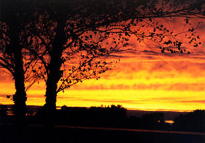 Sunset Photograph - Fire Sky by Jacob Cane