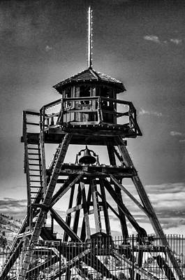 Daysray Photograph - Fire Tower 2 by Fran Riley