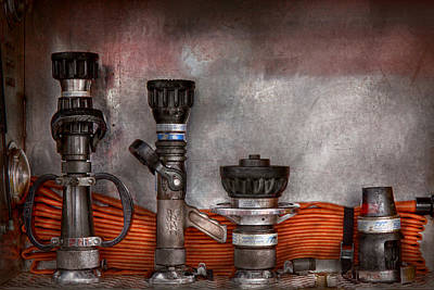 Firefighting - One For Everyone Print by Mike Savad