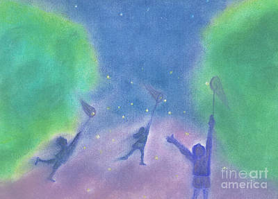 Fireflies By Jrr Print by First Star Art