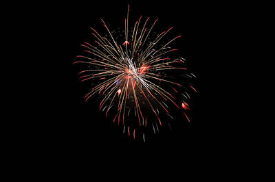 4th July Photograph - Fireworks 1 by Marilyn Hunt