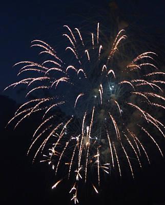 Fireworks 2014 IIi Original by Suzanne Gaff
