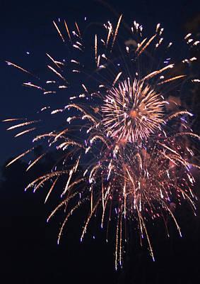 Fireworks 2014 Ix Original by Suzanne Gaff