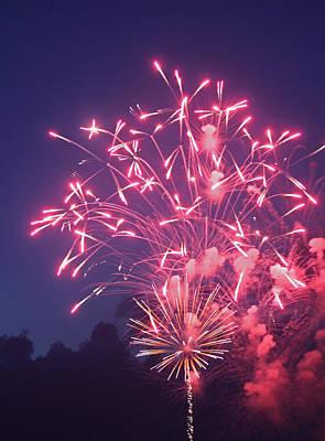 Fireworks 2014 X Original by Suzanne Gaff