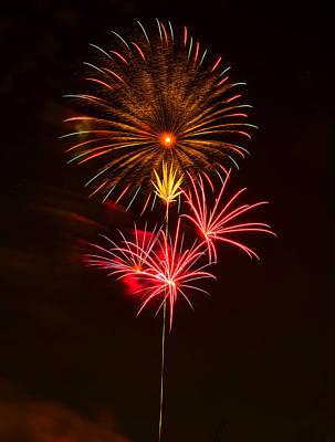 Fireworks Digital Art - Fireworks 4 by Chris Flees