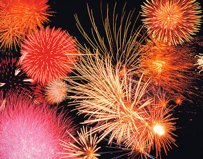 Fireworks Display Print by Panoramic Images