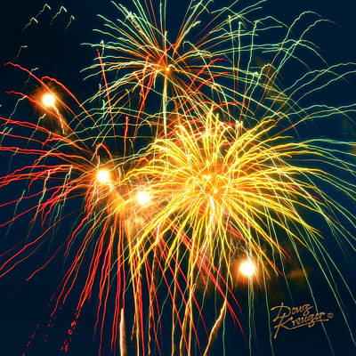 Fireworks Finale Print by Doug Kreuger