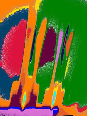 Fireworks Mixed Media - Fireworks by Tom Druin