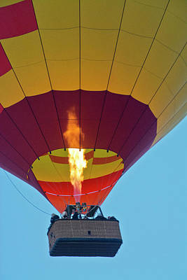 Firing Up, Taking Off, Ballooning Print by Michel Hersen