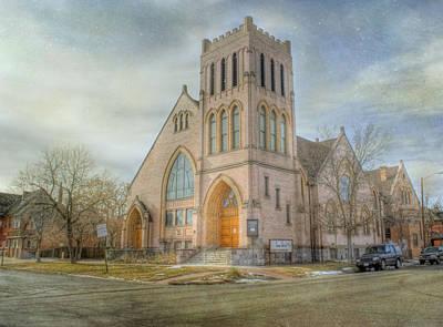 First Avenue Presbyterian Church  Print by Juli Scalzi