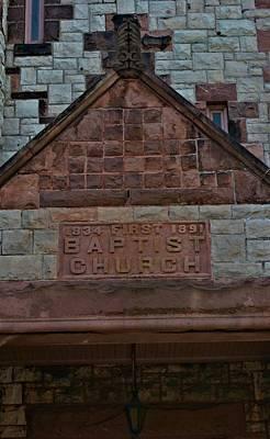 First Baptist Church 5 Print by Richard Jenkins