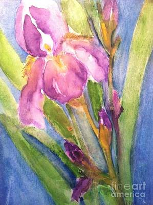 First Bloom Print by Sherry Harradence