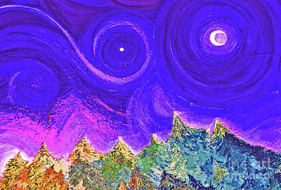 First Star Sunrise Print by First Star Art