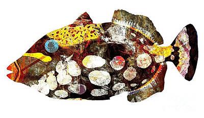Fish 504-11-13 Marucii Print by Marek Lutek